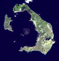 Geologie sopky Santorini